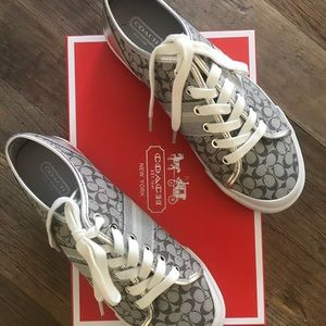 COACH women's tennies - new with box - size 8